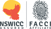 NSWICC FACCI ASSURED Logo H135